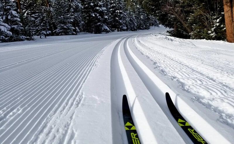 Cross Country Ski Trail in Breckenridge CO