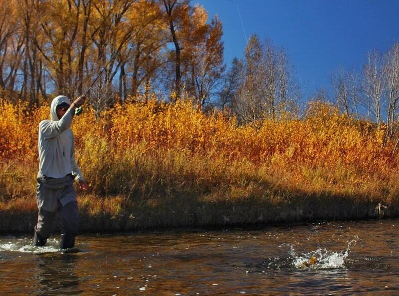 Fall Fishing in Colorado