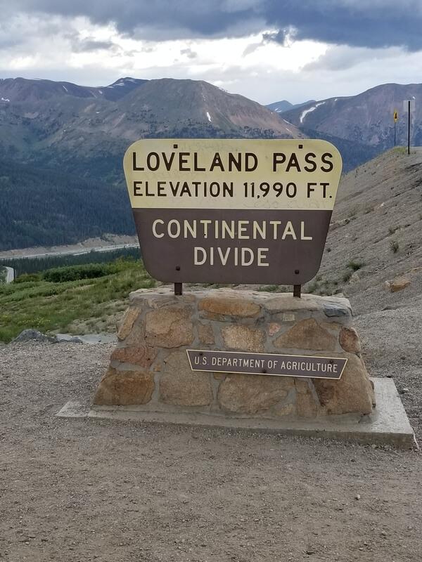 Loveland Pass Summit