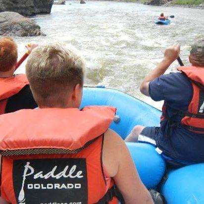 Paddle Colorado Rafting